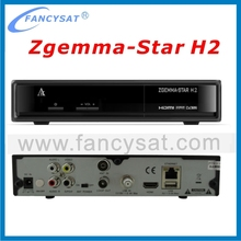 Zgemma-star H2 with DVB-S2+T2 Twin tuner 751MHz Full HD satellite receiver Zgemma star H2 zgemma h2