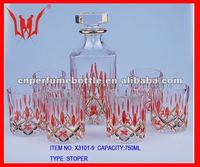 whole sets of 750 ml liquor glass bottle for Tequila