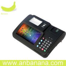 Easy to find handheld fingerprint identification pos device