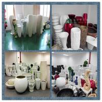 new fashion ceramic vase,big flower vase,acrylic vase wholesale for hotel green art flower vases decoration flower vase