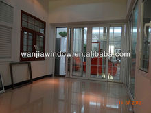 office/commerical used aluminium sliding door interior designs