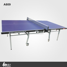 Wholesale Club Training Double Folded Table Tennis Table With Wheels