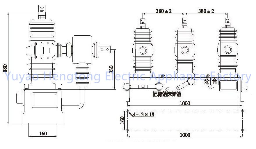 zw32 24 outdoor vacuum circuit breaker