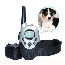 remote control Waterproof Dog Training Collar With LCD Display For 1 Dog
