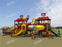 Best Selling Children's outdoor plastic playsets