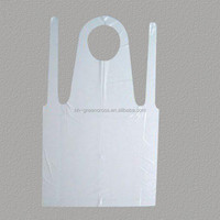 Medical supply! pe disposable hygiene plastic apron eco-friendly pe waterproof apron