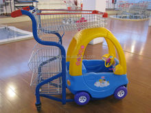 Baby Shopping Cart With Toy Car