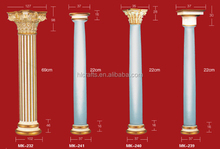 Decorative cheap columns for home/balcony fiberglass Ornamental roman roman pillars hot new products for 2015