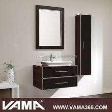 VAMA V-16018 32 inch solid wood storage cabinets for bathrooms
