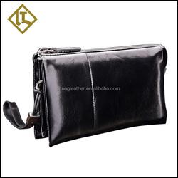 Super hot sale top 10 wallet brands thin leather zipper pocket men wallet