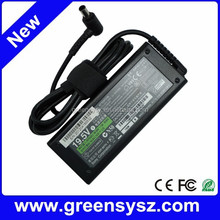 Genuine new laptop ac charger power adapter for Sony VGP-AC19V26 19.5V 4.7A 90W 6.5mmX4.4mm