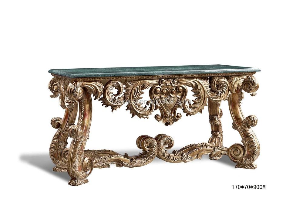 Buena mano tallada living room consola reposteria, Sala de madera ...