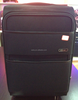 soft suitcase 1200D 600D two tone cross fabric trolley case luggage