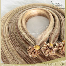 New products wholesale aaa quality remy hair extension flat tip hair extension