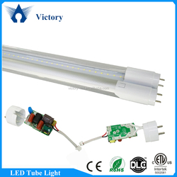 Best Hotel Lighting Lamp Milky white 1.2m Tube8 LED T8 Tube 15w 4ft ETL