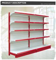 The 30years factory single side backboard rack supermarket rack