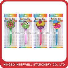 2012 new style!flower ball pen,Icecream pen,owl pen
