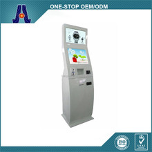 "computer information kiosk with 19"" dual touch screen (HJL-3310-DE)"