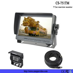 Security reversing backup digital car tft lcd monitor for truck rear view system kit