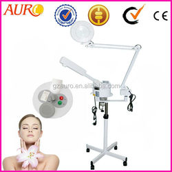 Distributors wanted! Guangzhou new-tech beauty product facial steaming machine with magnifying lamp