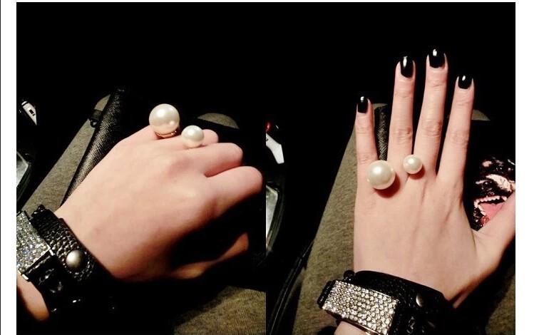 Кольцо с жемчужиной своими руками 76