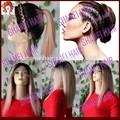 La venta caliente!!! 2015 nuevo diseño corto peluca del pelo humano peluca negro para las mujeres