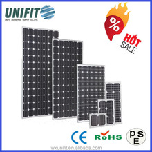 solar cell and solar panel,solarpanel high efficiency with small photovoltaic cells