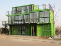 2015 New beautiful-design modern layout cheap prefabricated container house/ office/ refab cabin