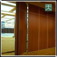 Sound proof sliding folding room partition