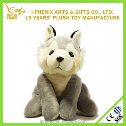 2015 New arrival,soft toy husky,stuffed plush toy dog husky