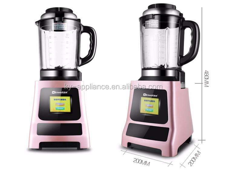 Lectrique chauffage m langeur alimentaire processeur chaude soupe maker avec - Blender chauffant vorwerk ...