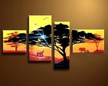 Excellant Group Oil Painting Landscape Natural