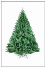 Natural Color 2015 Christmas tree with red berries and snowing pine needle tree