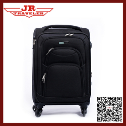 2016 new luggage style/EVA polyester cheap suitcase / High quality 1680D Fabric luggage with spinner wheel eminent luggage