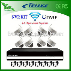 alibaba golden supplier nvr ktis,support iphone/blackberry/android,ip cameras wifi,ir led dome