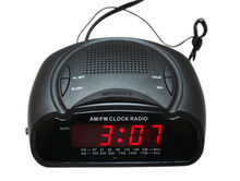 "0.6"" LED radio reloj despertador"