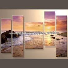 pinturas modernas marino con la venta caliente