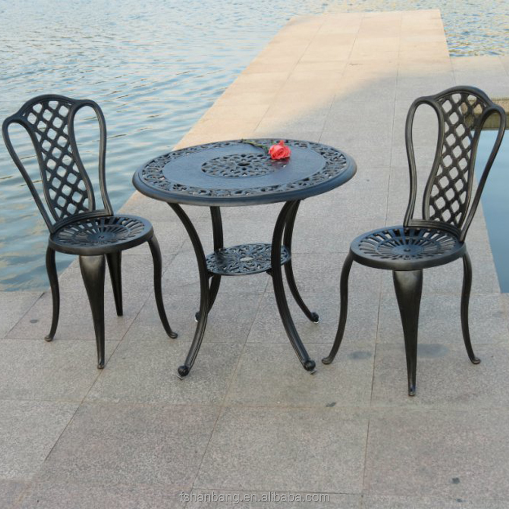 Hotsale Heavy Duty All Weather Rust Free Cast Aluminum Outdoor Patio  Furniture
