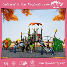 Hot selling outdoor kids play structures for children outside playing in the school playground AP OP11109
