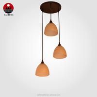 2015 Popular Glass pendant lamp/ Hanging lightting