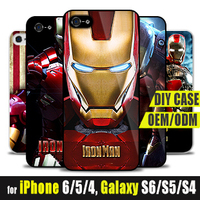 Superman iRon man Design PERSONALIZED TPU Custom Case for iPhone 6s 6 Plus 5s iRonman PRINT CASES