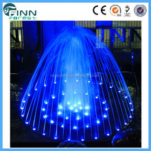 Guangzhou factory supply unique outdoor light changing 4 tier water fountain