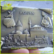 2015 retro design KONYA souvenir magnet for fridge