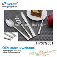 Cheap different kinds of international stainless steel flatware