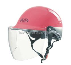 JinHua HuaDun abs shell half face motorcycle helmet ,summer helmet (HD-338)