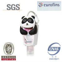 30ml Bulk Antiseptic Instant Hand Sanitizer with Panda Silicon Holder