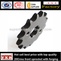 China manufacturer motorcycle spare parts 150cc motorcycle sprocket