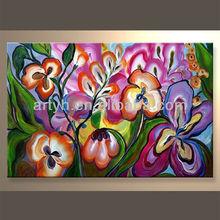 Newest Handmade Romantic Canvas Art In Discount Price
