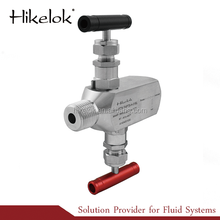 Stainless Steel High Pressure and High Temperature Instrumentation 2-valve Manifolds