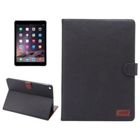 New Arrival Wallet Pattern Crazy Horse Texture Stand Leather Smart Case for iPad Air 2